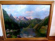 tolles Gemälde Ölgemälde Königssee auf
