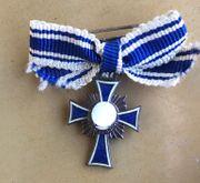 Mutterkreuz Bronze Ehrenkreuz der deutschen