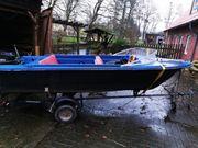 Angelboot mit 6PS Mercury