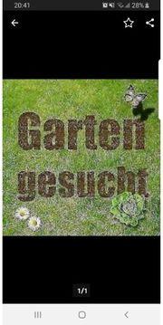 Suche eingezäuntes Gartengrundstück zu pachten