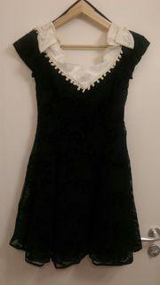 Kleid Coctailkleid Gr 38 schwarz