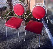 2 Gartenstühle 50 er Jahre