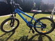 Mountainbike Ghost blau