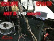 BMW E61 Heckklappe Kabelbaum Reparatur