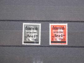 Briefmarken: Österreich 1945 Losenstein Lokalausgabe