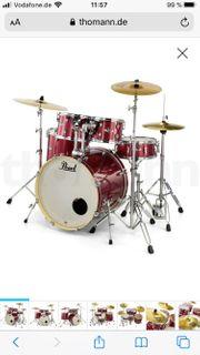 Pearl Schlagzeug inkl Schutzhüllen top