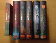 Verschiedene Warrior Cats Bücher Staffel