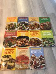Kochbücher 15 Stück Mixvergnügen