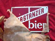 Emailschild FRASTANZER BIER - Brauerei Frastanz
