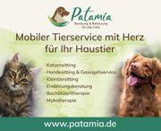 Mobile Tierbetreuung Gassigehservice Hundesitting Katzensitting