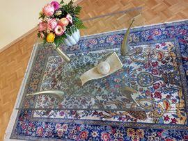Bild 4 - Glastisch Tisch- Luxus Couchtisch Messing - München Milbertshofen-Am Hart