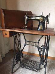 Antike Nähmaschine Singer