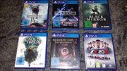 PS4 Spiele und PS4 Slim