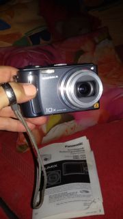 Lumix Digitalkamera mit Zubehör