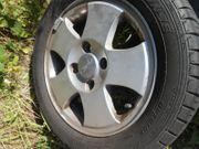 4 Ford Alufelgen mit Reifen