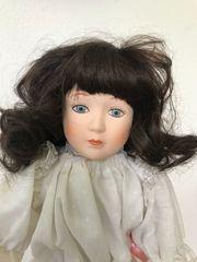 Sammler Puppe 45 cm Porzellan