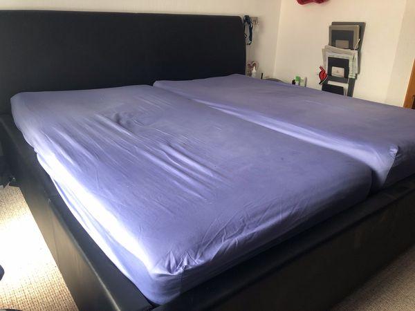 Doppelbett Bett 2 x 1