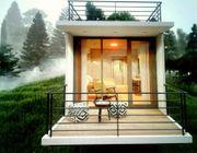 Floß Haus Kleines Haus zu