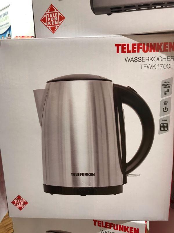 Wasserkocher NEU von Telefunken 1