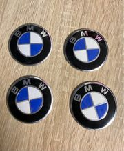BMW Felgendeckel Aufkleber 56mm Nabendeckel