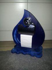 WC Papier Toilettenpapier Wassertropfen-Klorollenhalter aus