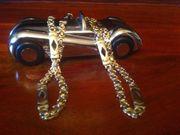 Königskette 585 Gelb-Weißgold