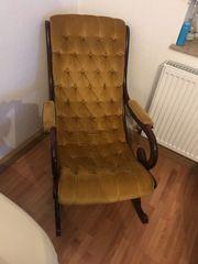 antike Stuhl gut erhalten