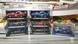 neue 1:32er Slotcars (analog) in OVP FLY,CARRERA,SCX