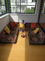 Orientalische Sitzecke