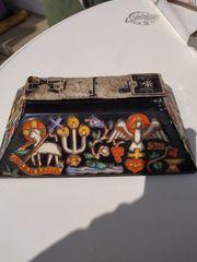 Reliquienschreindeckel Urnendeckel
