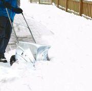 Roll Schneeschieber - starker und robuster