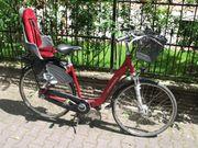 28-Zoll Stadt- Transportfahrrad mit Kindersitz