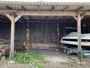 Stellplatz - voll überdacht - Aussenstellplatz für