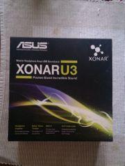 Asus Soundkarte Xonar U3 extern