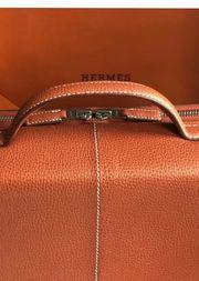 Original Hermes Aktenkoffer Spezialanfertigung Orange