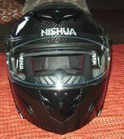 NISHUA NFX-2 Carbon Klapphelm Gr