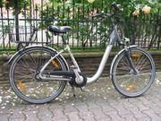 Damen-Fahrrad 26 Zoll mit Korb
