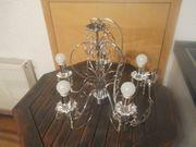 Eleganter Kronleuchter mit Acrylkristallen PINJA
