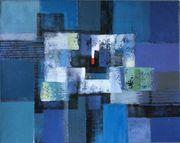 Großes neues BALI-Gemälde Komposition auf