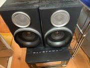 Stereo Kompaktanlage mit CD und