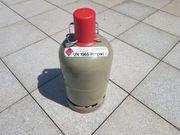 Gasflasche Propangasflasche 5 kg grau