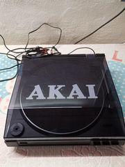 Akai Plattenspieler und ca 20