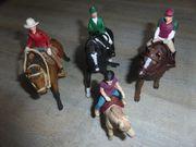 Schleich Pferde mit Reiter in