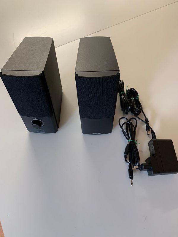 BOSE Companion 2 Serie III 3 Aktiv Lautsprecher 2. 0 Multimedia Speaker System PC
