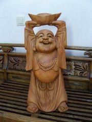 Großer Buddha aus Holz 65