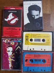 Bespielte Cassetten
