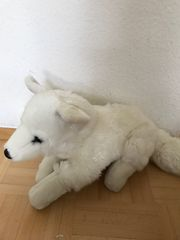 weißer Schnee Fuchs Kuscheltiere von