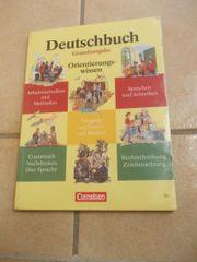 Deutschbuch Grundausgabe Orientierungswissen