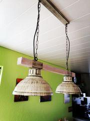 Rustikale Deckenlampe neuwertig