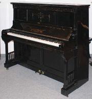 Klavier Vogel 135 schwarz poliert